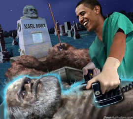 Marxist Obama by David Dees