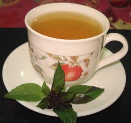 A cup of tulsi tea