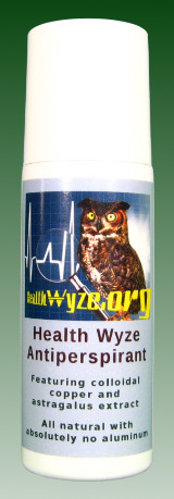 The Health Wyze Antiperspirant