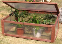 Cold frame for vegetable growing