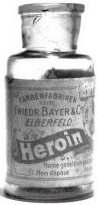 Heroin Bottle from Bayer