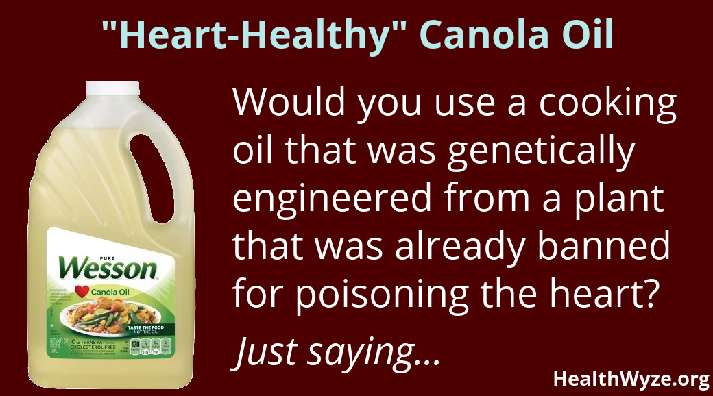 Meme about the toxicity of canola oil