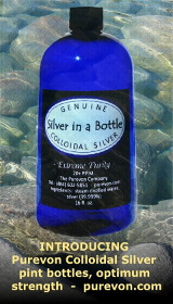 Purevon's Silver in a Bottle