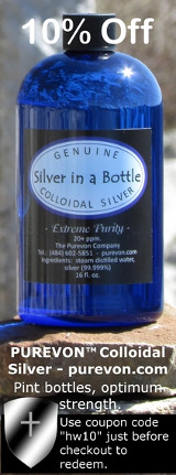 Purevon Silver in a Bottle