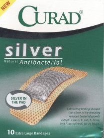 Silver Bandages Sold by Curad