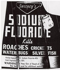 Fluoride is a rat poison