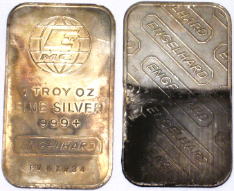 Used Silver Bullion Bars