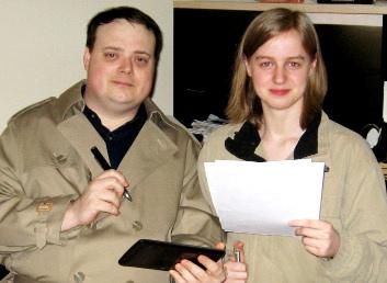 Thomas Corriher and Sarah Corriher of Health Wyze Media